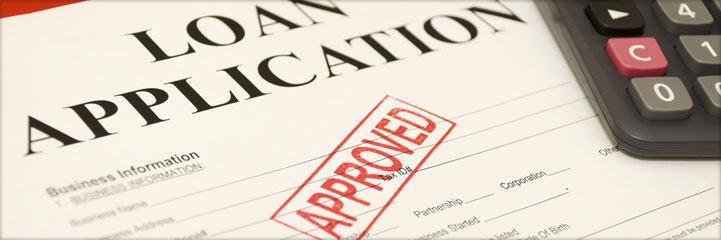 A application form for short term loan that has been approved.